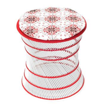 no-mad-india-white-muddah-red-isayu-small-round-cushion