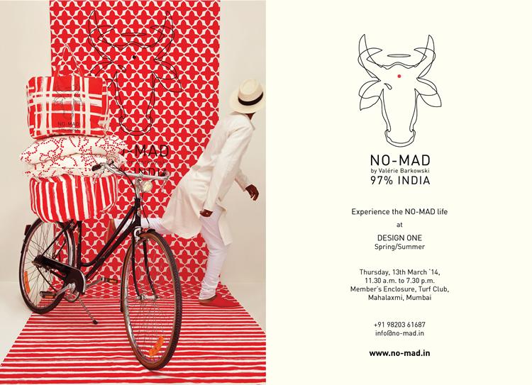 No-Mad at DESIGN ONE – Spring Summer 2014, Mumbai