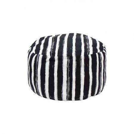 nomad-india-black-patta-pouf