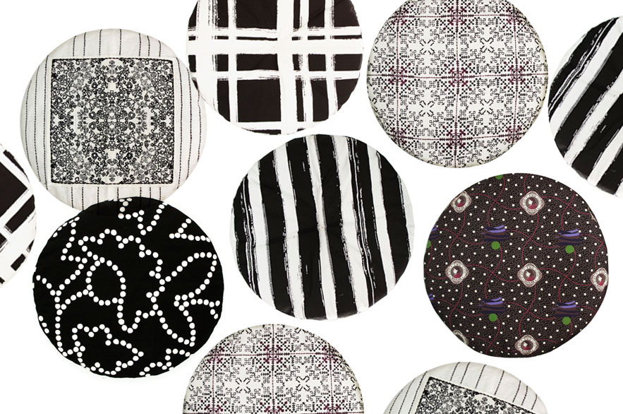 no-mad-india-round-cushions-black-collection-no-mad