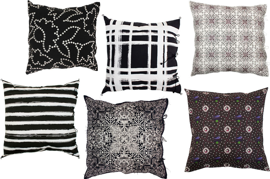 no-mad-india-square-cushions-black-collection-no-mad