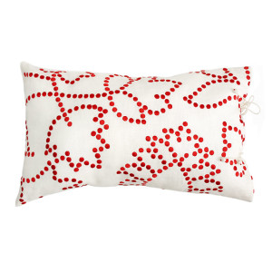 no-mad-india-gunjan-red-cushion-35x55