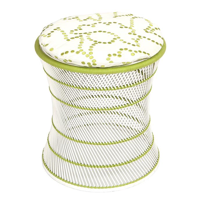 nomad-india-green-muddah-round-gunjan-cushion