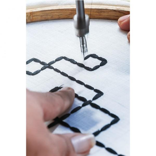nomad-india-making-of-black-vayu-napkin