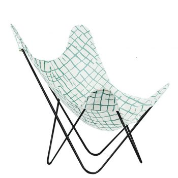 nomad-india-black-ajara-chair-blue-pankti-chair-cover