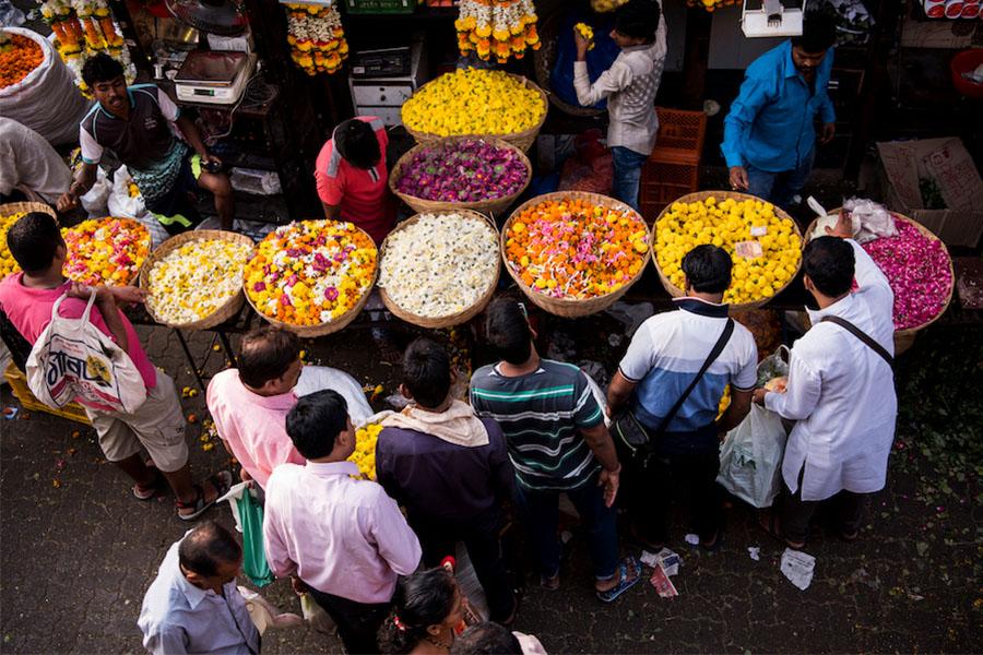 Dadar Flower Market - No-Mad