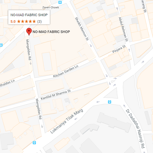 no-mad fabric shop map