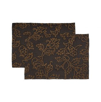nomad-india-kusum-charcoal-zari-placemat