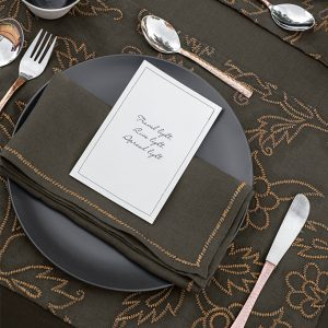 nomad-india-kusum-charcoal-zari-placemat-napkin-main