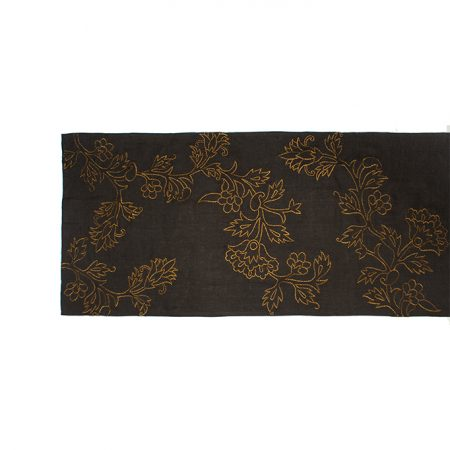nomad-india-kusum-charcoal-zari-runner