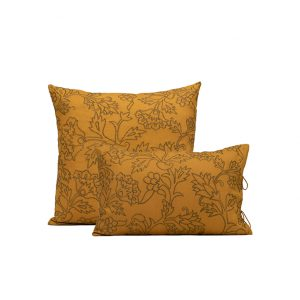 nomad-india-kusum-ochre-zari-cushion-cover