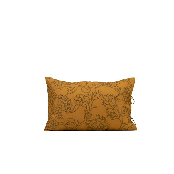 nomad-india-kusum-ochre-zari-cushion-cover-35x55