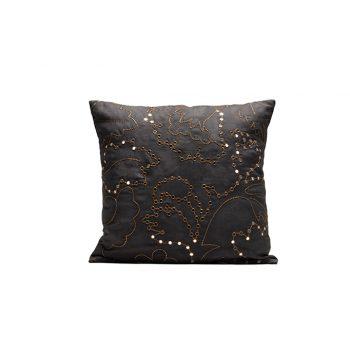 nomad-india-suman-charcoal-zari-cushion-cover-50x50