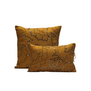 nomad-india-suman-ochre-black-cushion-cover