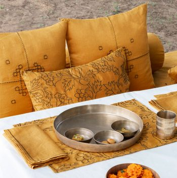 nomad-india-table-linen-kusum-ochre-zari