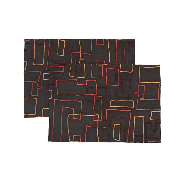 nomad-india-vanya-charcoal-multi-placemat