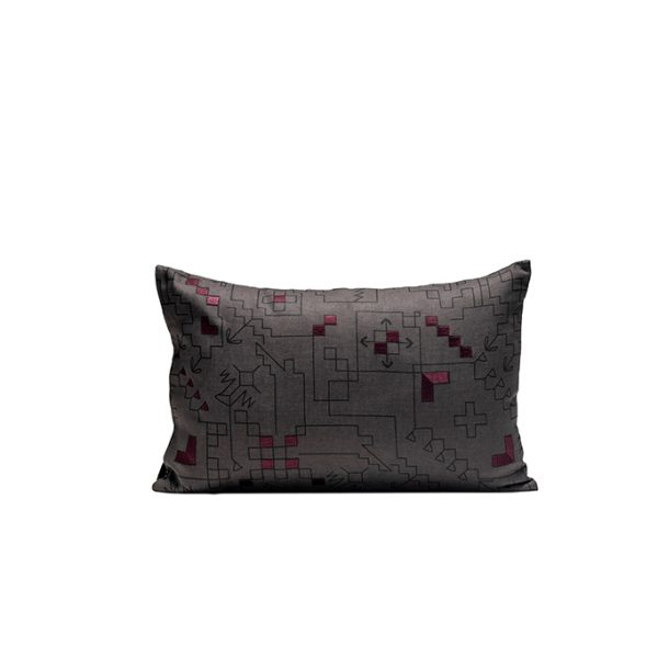 nomad-india-ryka-charcoal-plum-cushion-cover-35x55