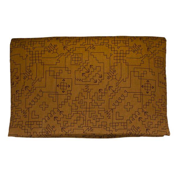 nomad-india-ryka-ochre-black-mattress-cover
