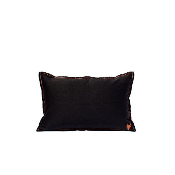nomad-india-barahmasa-solid-cushion-black--35-by-55