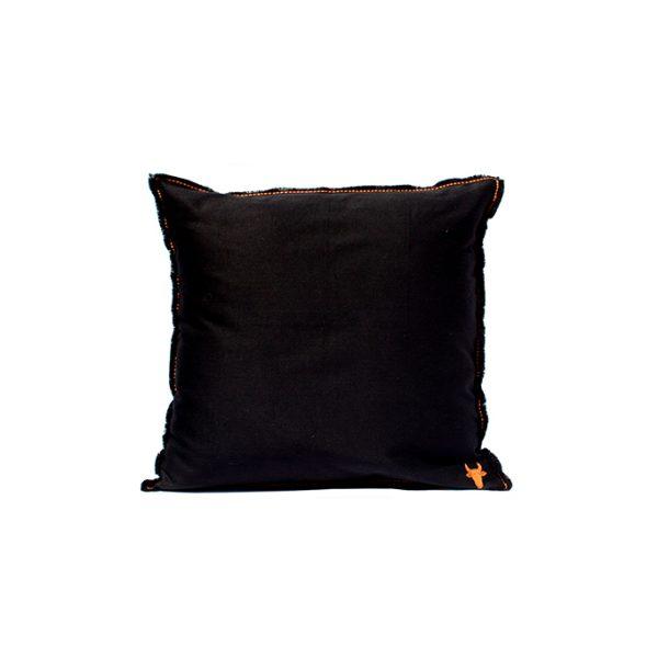 nomad-india-barahmasa-solid-cushion-black--50-by-50