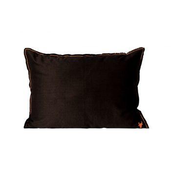 nomad-india-barahmasa-solid-cushion-black--50-by-70