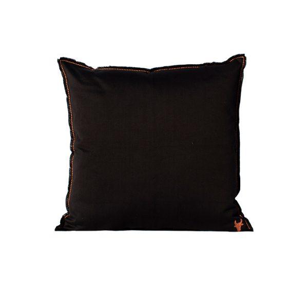 nomad-india-barahmasa-solid-cushion-black--60-by-60