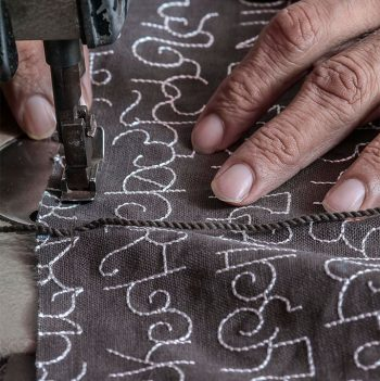 nomad-india-textile-throw-mattress-leehza-charcoal-making