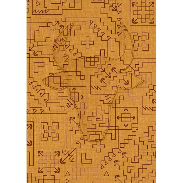 nomad-india-ochre-linen-fabric