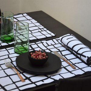 nomad-india-black-pankti-napkin-placemat