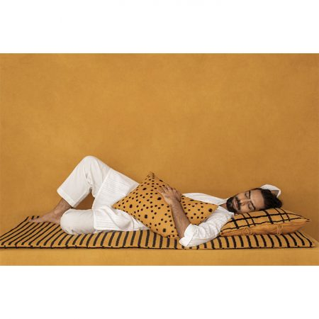 nomad-india-ochre-lakeer-throw-mattress-2