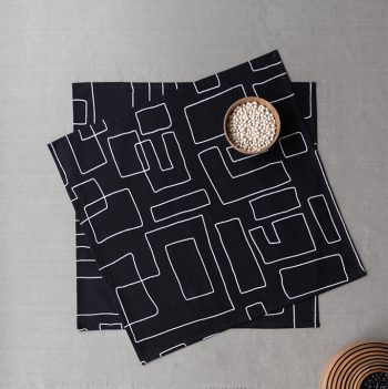nomad-india-table-linen-black-vanya-napkins-1