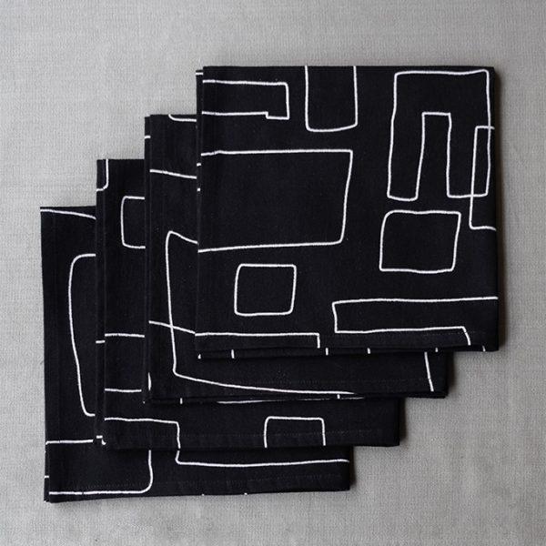 nomad-india-table-linen-black-vanya-napkins-3