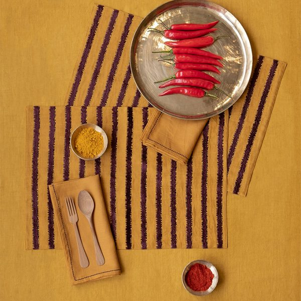 nomad-india-table-linen-lakeer-ochre-plum-1