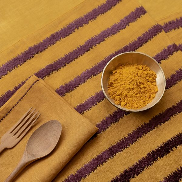 nomad-india-table-linen-lakeer-ochre-plum-2