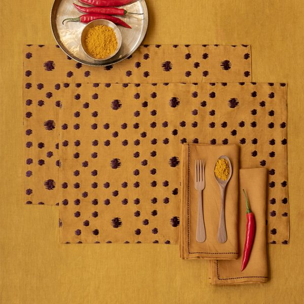 nomad-india-table-linen-ochre-pratha-placemats-1