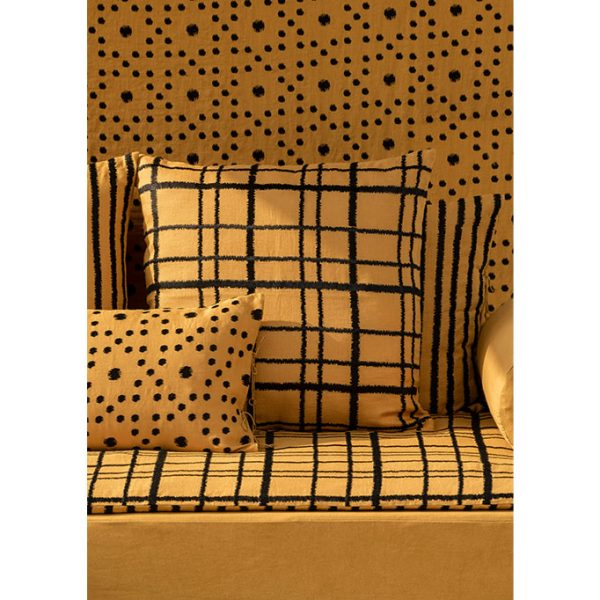 nomad-india-textiles-cushion-cover-embroidered-ikat-ochre-collection