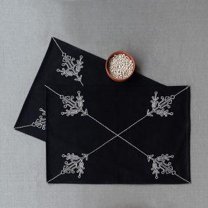 nomad-india-black-ulka-table-linen
